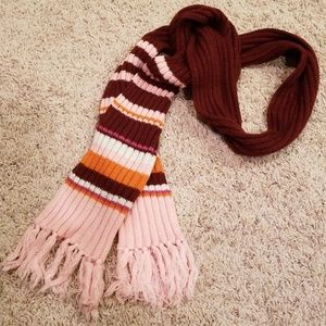 Accessories - Burgundy/Pink Colored Scarf🍂🌟 FINAL PRICE 🌟